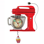 OROLOGIO VINTAGE MIXER RED