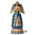 MUSICAL NATIVITY ANGEL ROTATING